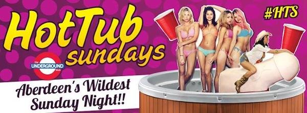 hot tub sundays underground