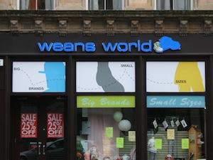 glasgow weans world