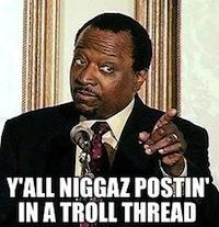 posting in troll thread