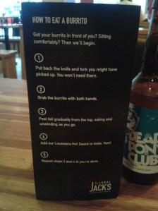 illegal jack's menu