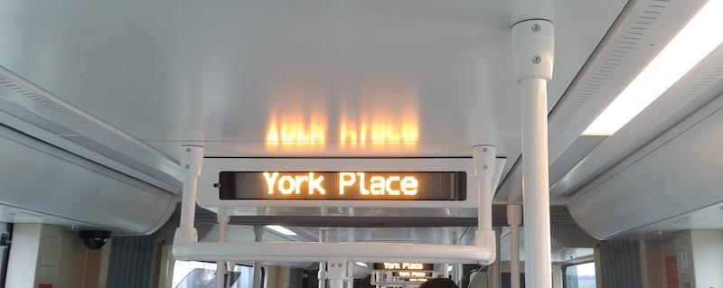 edinburgh trams york place