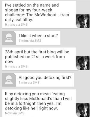 mcworkout detoxing