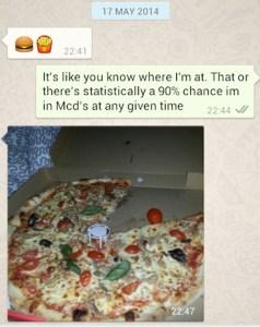 pizza v mcdonalds