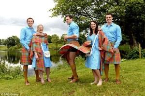 Scottish team's Commonwealth Games uniform
