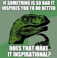 inspirational philosoraptor