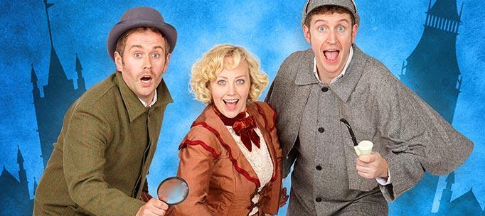 Dan and Jeff – Potted Sherlock – Edinburgh Fringe 2014