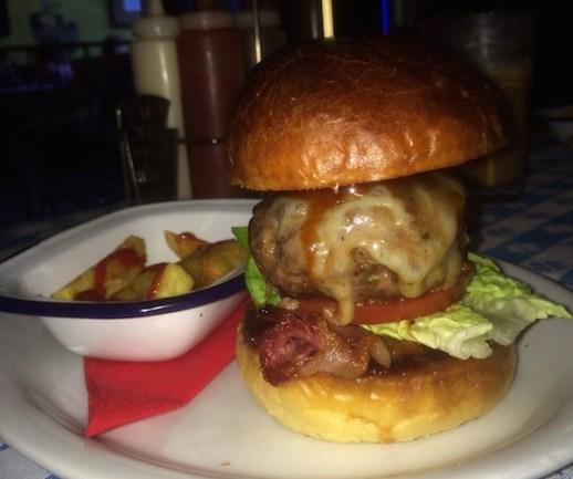 nice n sleazys burger glasgow