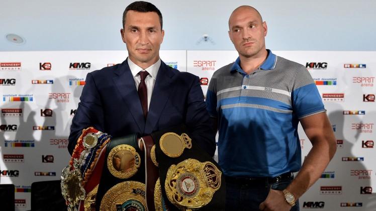 When Giants Collide: Klitschko vs Fury