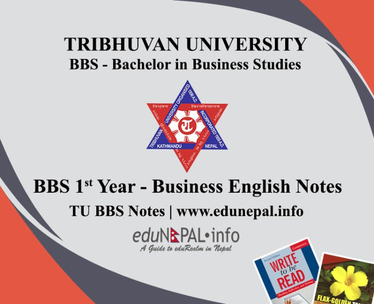 TU BBS 1st Year Business English Notes