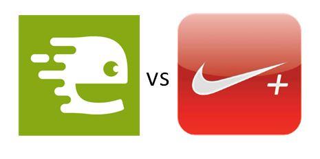 Endomondo vs Nike+