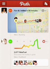 Posting from Nike+