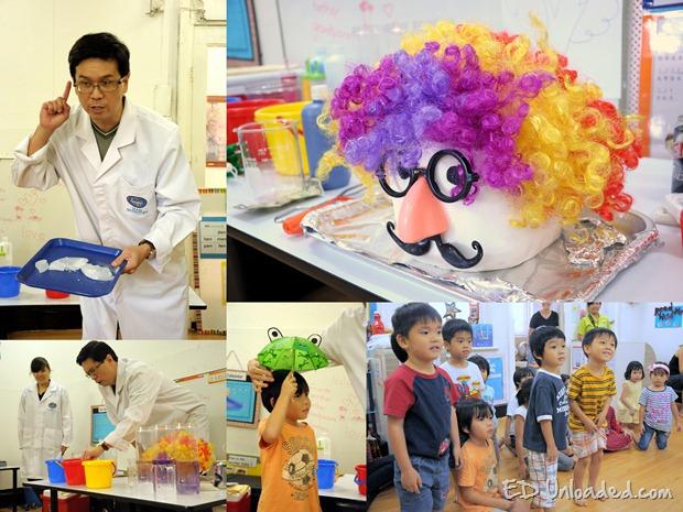 Children science experiment