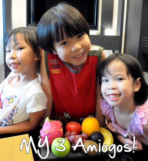 fruits children