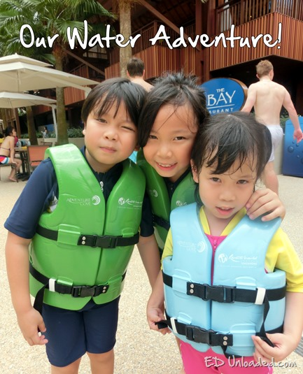 sentosa water adventure