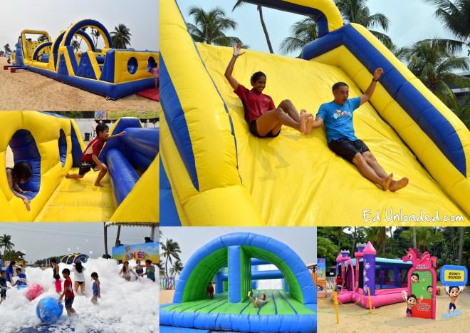 beach slides