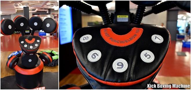 kick boxing machine