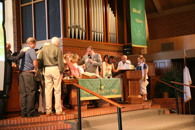 prayer following approval for ordination as Minister of Word and Sacrament