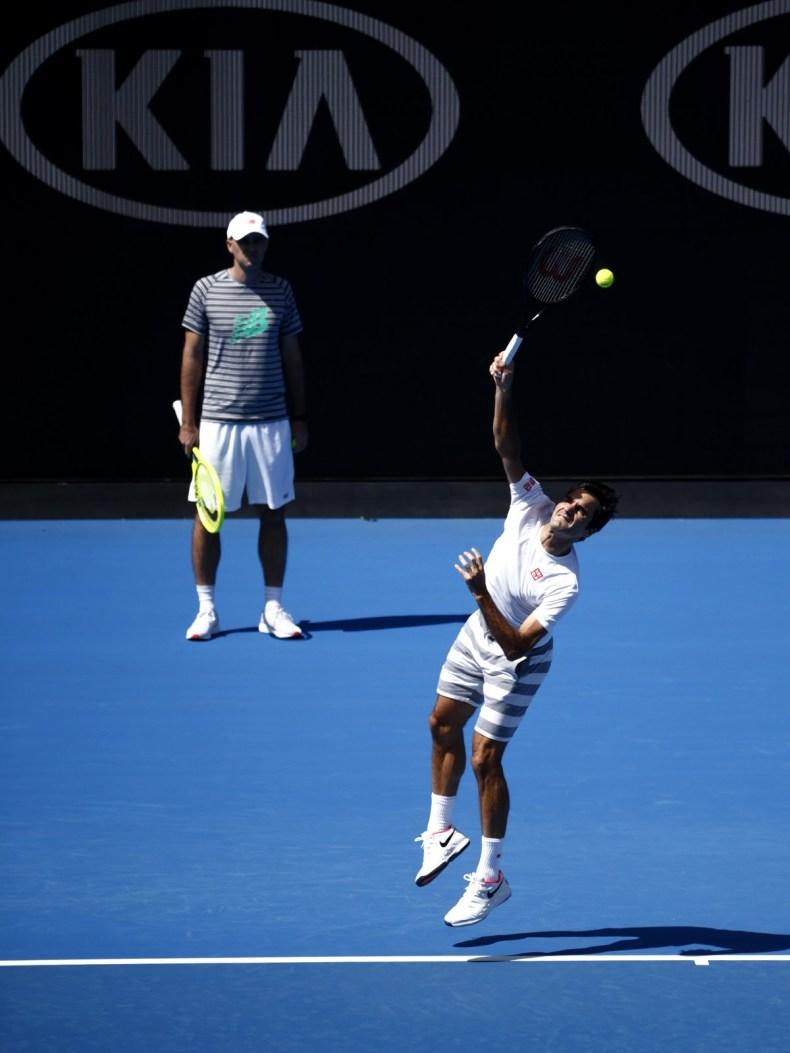 Federer e Técnico