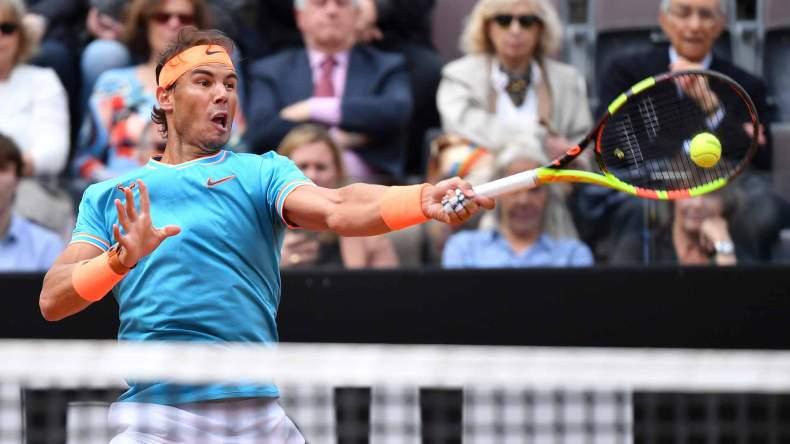 Rafael Nadal Masters de Roma Semifinal Forehand