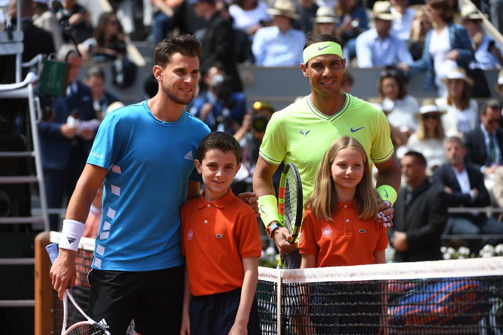 Rafael Nadal 2019 Dominic Thiem Roland Garros Final