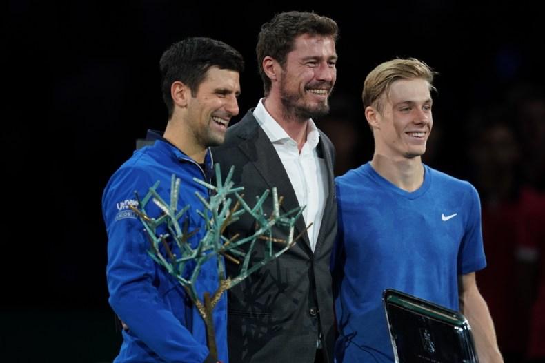Djokovic Shapovalov Masters de Paris