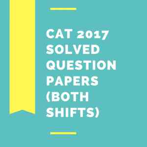 CAT 2017 Question paper Solved