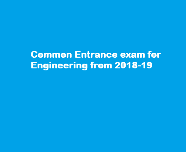 common entrance exam