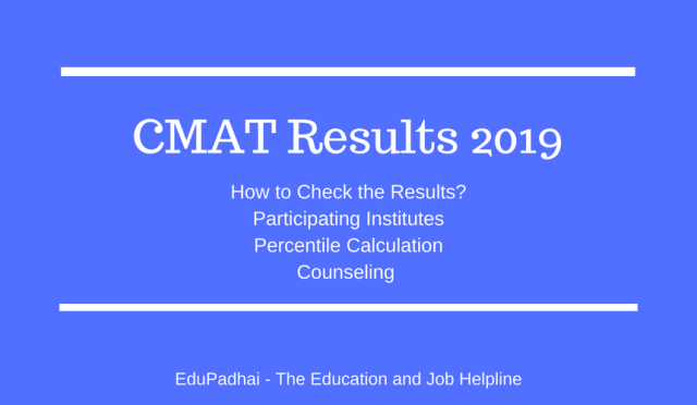 CMAT Results 2019