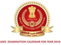 SSC calendar