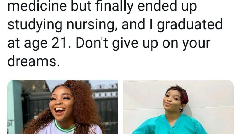 Nursing graduate