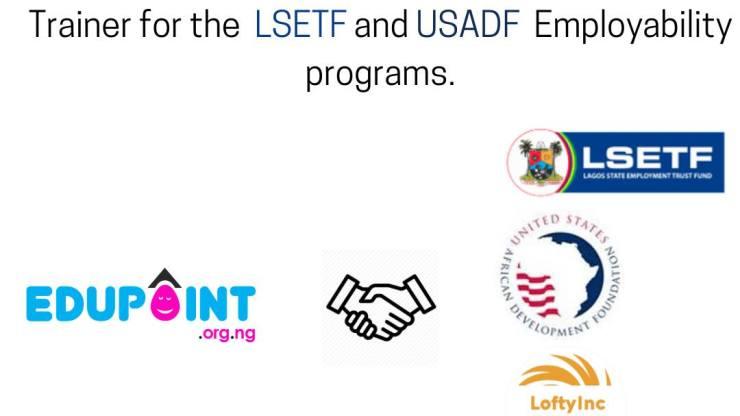 EduPoint with Partnership of LSETF, USADF and Lofty-Inc Trains Hundreds of Youth