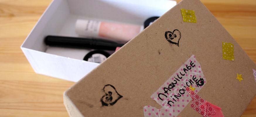 Boîte à maquillage finale