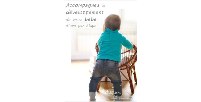 Accompagnez le développement de votre bébé étape par étape