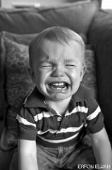 Pleurs d'un enfant