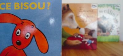 3 livres de bisous et câlins pour les enfants