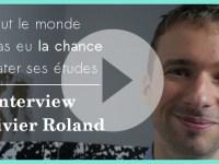 [Vidéo] Tout le monde n'a pas eu la chance de rater ses études : l'interview d'Olivier Roland