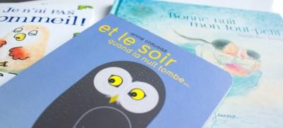 3 jolis livres pour aider bébé à s'endormir