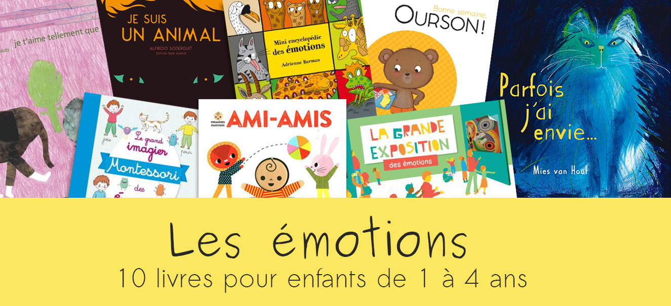 10 livres pour enfants sur les émotions