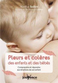 Livre Pleurs et colères des enfants et des bébés