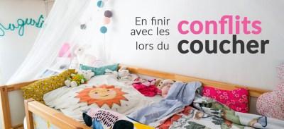 En finir avec les conflits lors du coucher des enfants