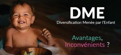 Diversification menée par l'enfant : DME. Pour ou contre ?