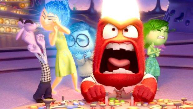 Colère s'énerve dans Vice versa (Pixar)