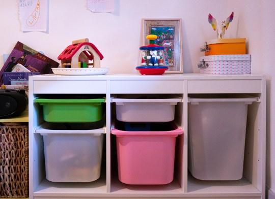 Rangement chambre enfants