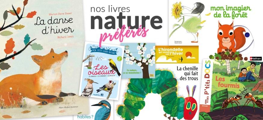 Nos livres nature préférés