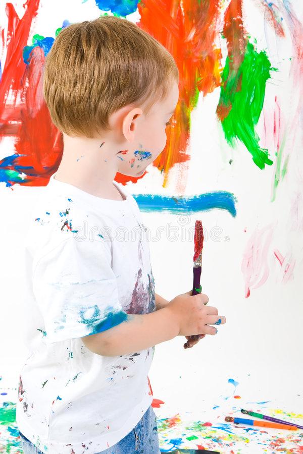 peinture sur le mur