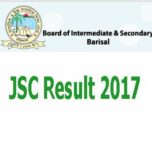 Barisal Board JSC Result 2017