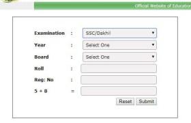 SSC Result 2019 Dhaka Board
