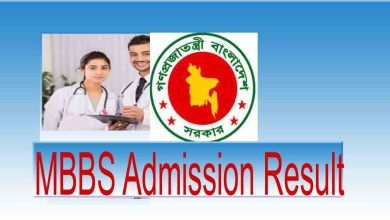 Medical Admission Result 2019