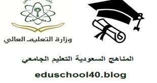 الخطة الدراسية كلية هندسة وعلوم الحاسب المستوى الاول