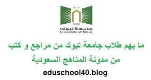 اختبار مهارات التعلم و التفكير والبحث جامعة تبوك 1440 هـ